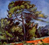 Большая сосна (Поль Сезанн, 1892-1896 г.)