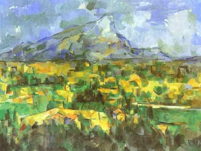 Гора Сент-Виктуар.