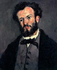 Портрет Антония Валабреге (П. Сезанн, ок. 1870 г.)