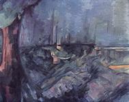 Живопись Поля Сезанна Море в Аннеси.