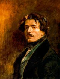 Автопортрет (Эжен Делакруа, 1837 г.)