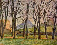 Каштаны в Жа де Буффан (Поль Сезанн, 1885-1887 г.)