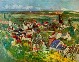 Вид Овера (Поль Сезанн, ок. 1874 г.)