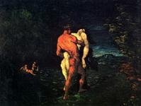 Картина Поля Сезанна Похищение.