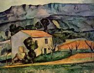 Картина Поля Сезанна Дом в Провансе.