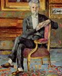 Портрет сидящего Виктора Шоке.