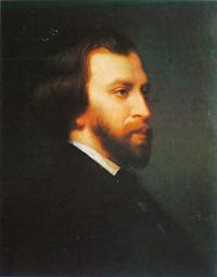 Альфред де Мюссе (Чарлз Ланделл, 1854 г.)