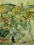 Картина Сезанна Вид на Гарданну.