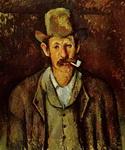 Портрет Поля Сезанна Мужчина с трубкой.
