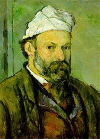 Автопортрет в колпаке (Поль Сезанн, 1881 г.)