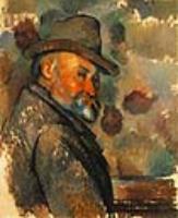 Поль Сезанн. Автопортрет в мягкой шляпе.