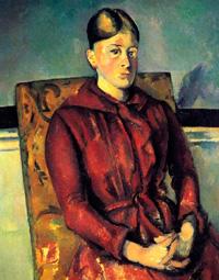 Мадам Сезанн в желтом кресле (П. Сезанн, 1893-1895 г.)