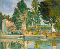 Жа де Буффан, бассейн (Поль Сезанн, 1876 г.)