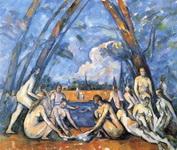 Картина Сезанна Большие купальщицы.