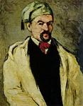 Поль Сезанн. Картина Портрет дяди Доминика.