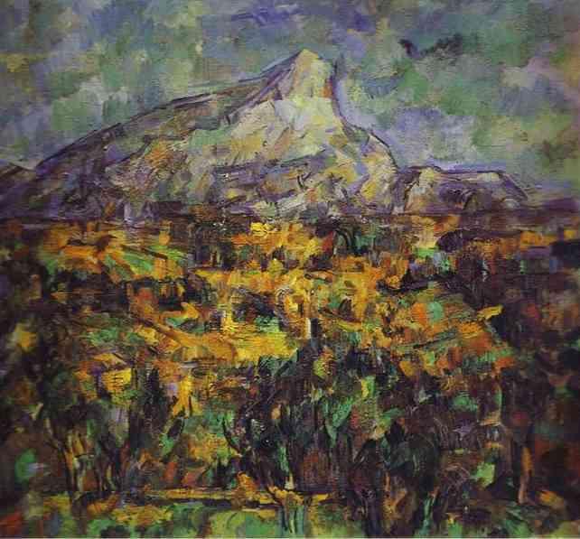 Пейзаж в Эксе (Гора Сент-Виктуар).