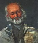 Поль Сезанн. Портрет пожилого человека.