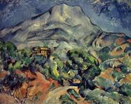 Живопись Поля Сезанна Дорога у горы св. Виктории.