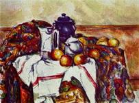 Картина Поля Сезанна Натюрморт.