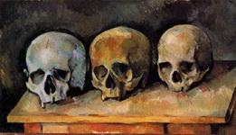 Натюрморт с тремя черепами.