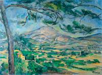 Гора Сент-Виктуар (Поль Сезанн, около 1886 г.)