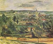 Картина Поля Сезанна Пейзаж в Жа де Буффан.