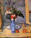 Натюрморт с голубой вазой.