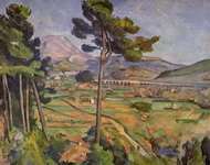 Пейзаж с виадуком (гора св. Виктории).