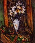 Натюрморт с вазой с цветами.
