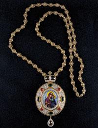 Толгская Пресвятая Богородица (панагия)