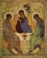 Троица (А. Рублев, 15 век)