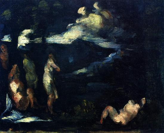 картина Сезанн