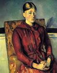 Картина Сезанна Мадам Сезанн в желтом кресле.