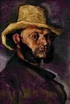 Мужчина в соломенной шляпе (портрет Бойера).