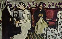 Девушка за фортепиано (увертюра к Тангейзеру).
