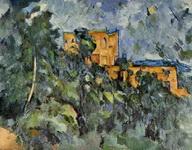 Картина Поля Сезанна Черный замок.